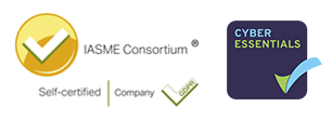 IASME and Cyber Essentials logo